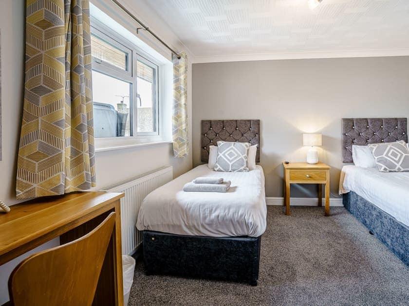 Twin bedroom | Gwbert Holiday Cottages- Hafdir - Gwbert Holiday Cottages, Gwbert, near Cardigan
