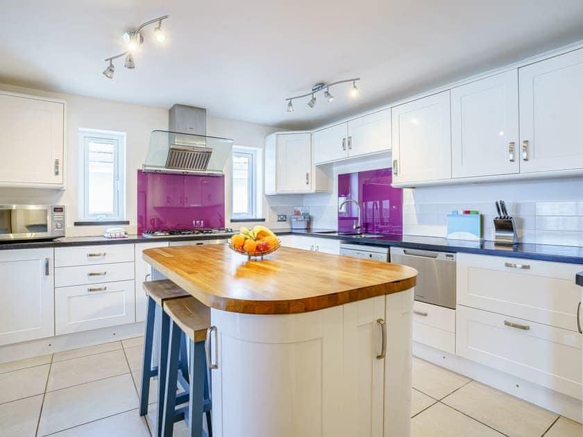 Kitchen | LLyswen - Gwbert Holiday Cottages, Gwbert, near Cardigan