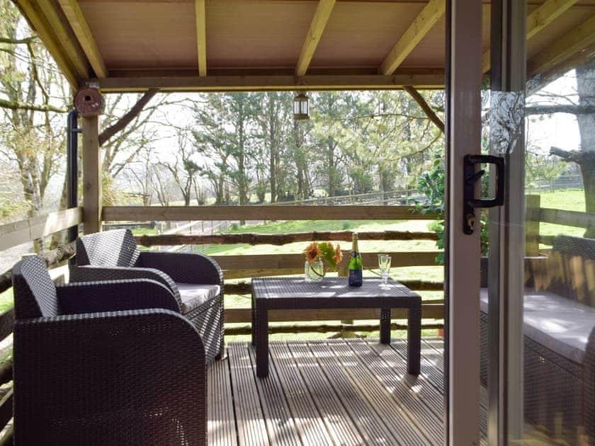 Terrace   Butterfly Lodge, Saron