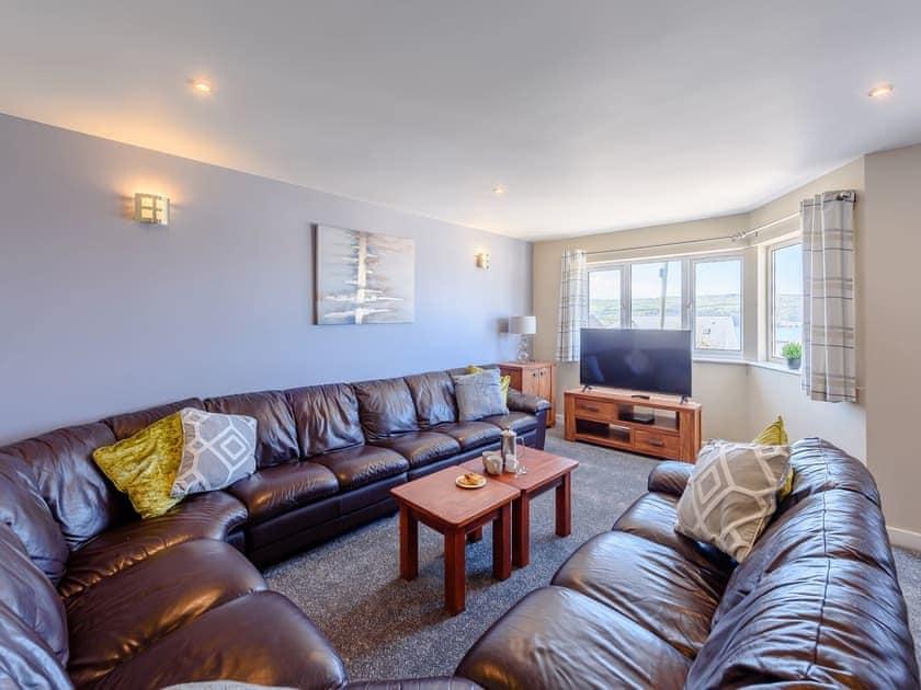 Living room | Sandbank - Gwbert Holiday Cottages, Gwbert, near Cardigan