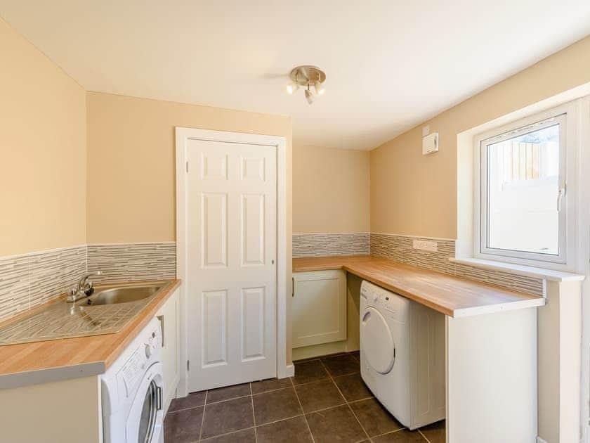 Utility room | Sandbank - Gwbert Holiday Cottages, Gwbert, near Cardigan