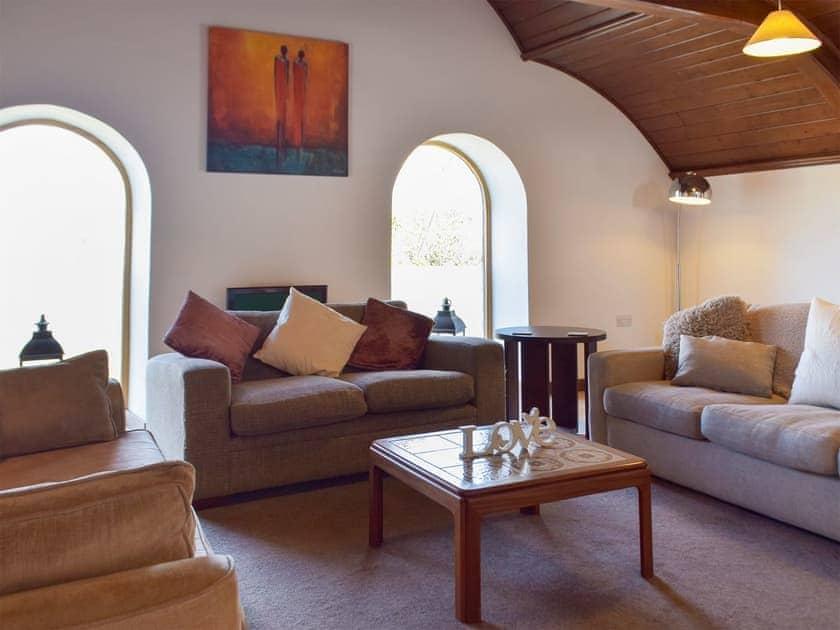 Living area | The Chapel - Chapel Escapes, Cross Inn, near New Quay