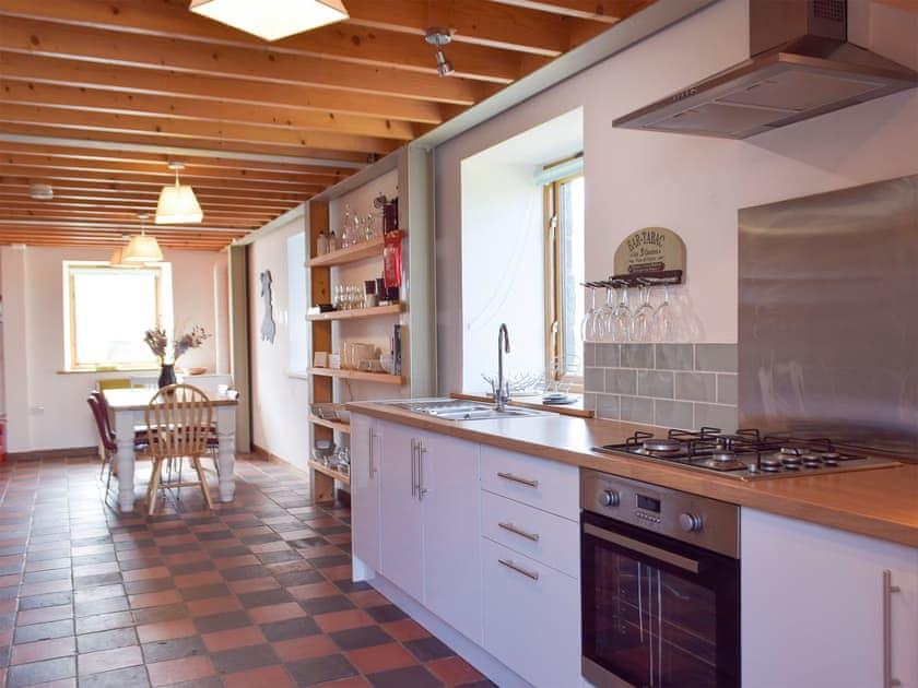 Kitchen/diner | The Chapel - Chapel Escapes, Cross Inn, near New Quay