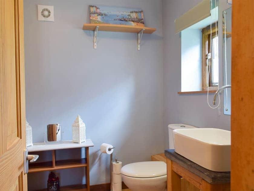 Bathroom | The Vestry - Chapel Escapes, Cross Inn, near New Quay