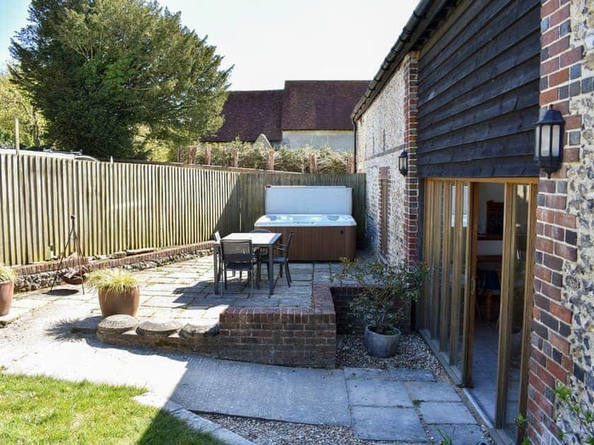 Garden | The Barn - Compton Farm Cottages, Compton, near Chichester