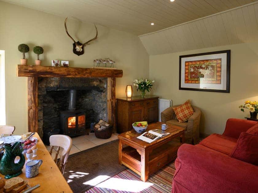 Living room/dining room   Croftend Cottage - Brewlands Estate, Glenisla, Blairgowrie