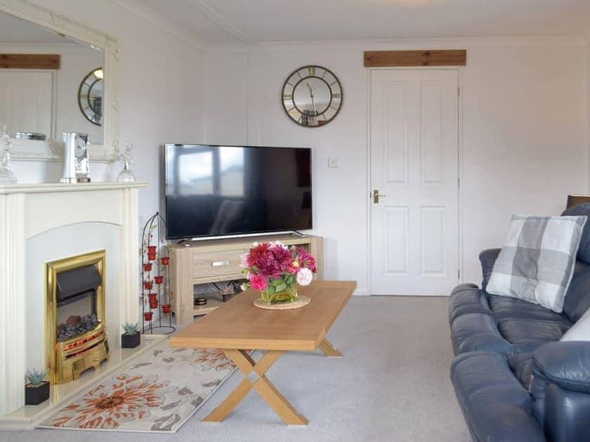 Living area | Sea View - Dinas Country Club, Dinas, near Fishguard