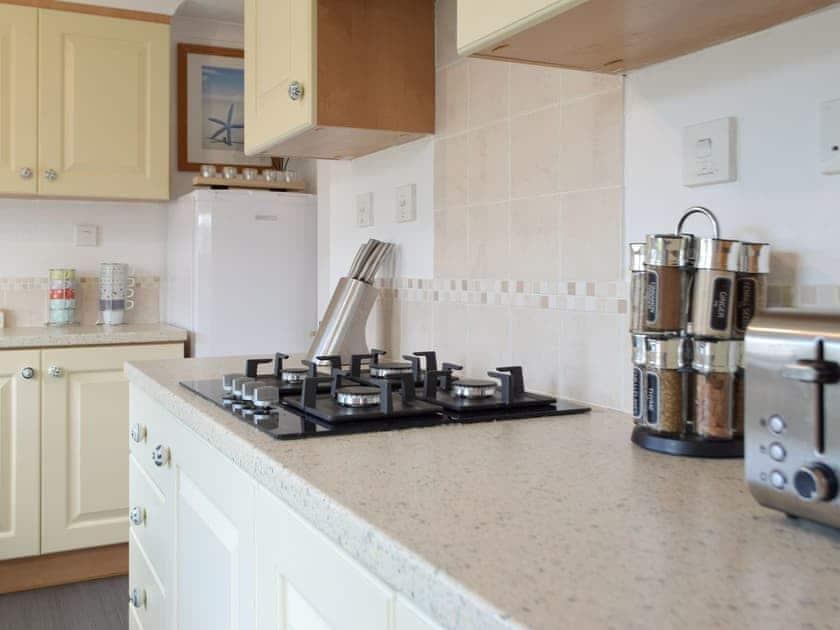 Kitchen | Sea View - Dinas Country Club, Dinas, near Fishguard