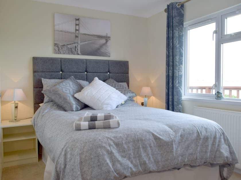 Double bedroom | Sea View - Dinas Country Club, Dinas, near Fishguard