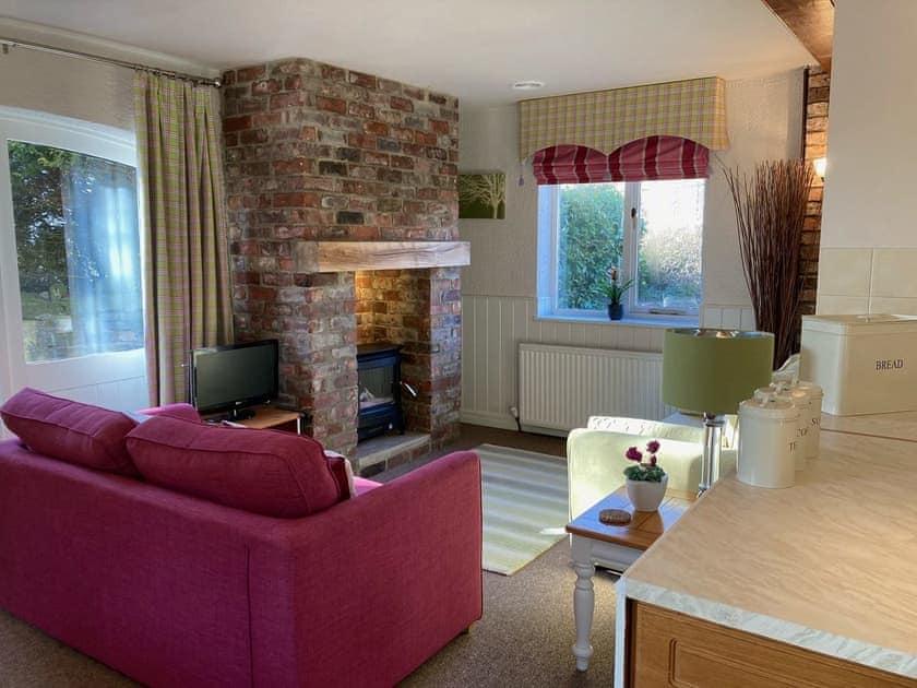 Living area | Sleepy Fox Cottage - Fox and Rabbit Holiday Cottages, Lockton, near Pickering