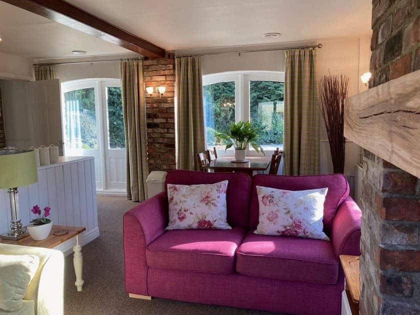 Living room | Sleepy Fox Cottage - Fox and Rabbit Holiday Cottages, Lockton, near Pickering