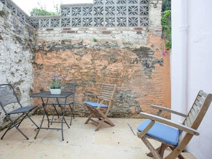 Sitting-out-area | Powderham Villa, Salcombe