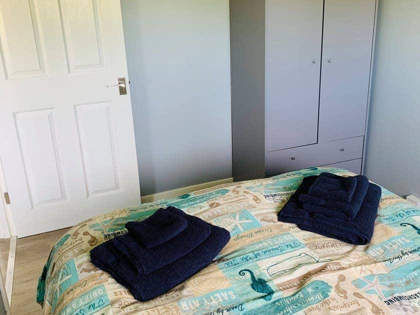 Double bedroom | The Beach Chalet, Norton Park