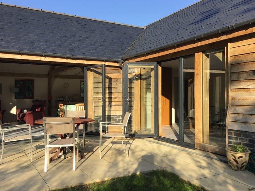 Patio | Chestnut Lodge, Halnaker, near Chichester
