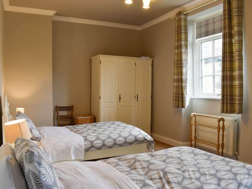 Twin bedroom   Hallams Yard, Skipton