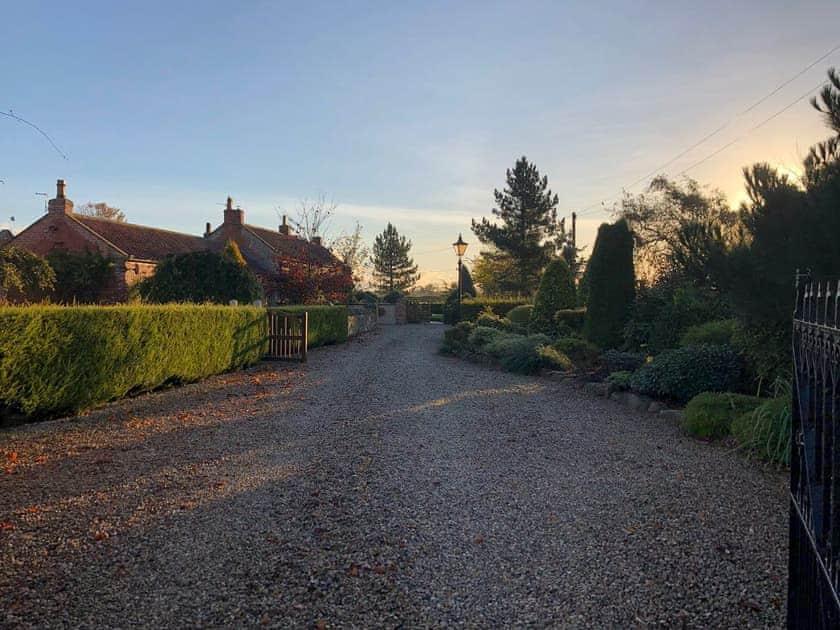 Driveway | Chestnut Cottage, Little Barugh, near Pickering