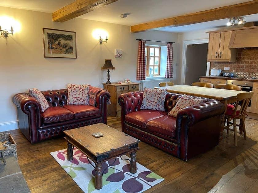 Open plan living space   Elm Tree Cottage, Little Barugh, near Pickering