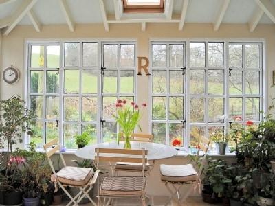 Conservatory | Cwmmegan, Trefeglwys, nr. Caersws