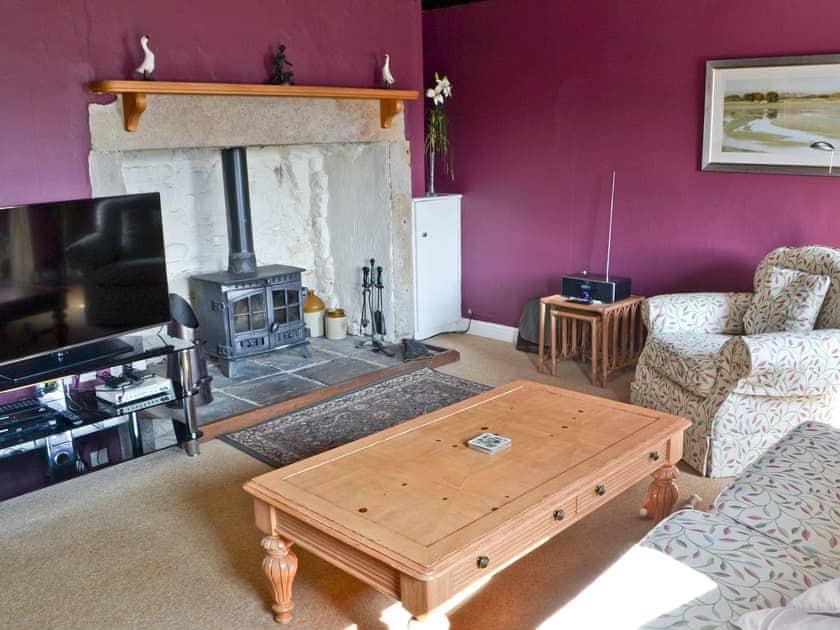 Living room   Whitelee Farm - Birch Cottage, Byrness Village, nr. Otterburn