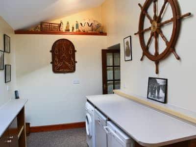 Utility room | Shoreline Cottage, Partanhall, Burnmouth