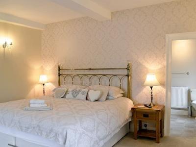 Double bedroom | Hindwell Farmhouse, Walton near Presteigne