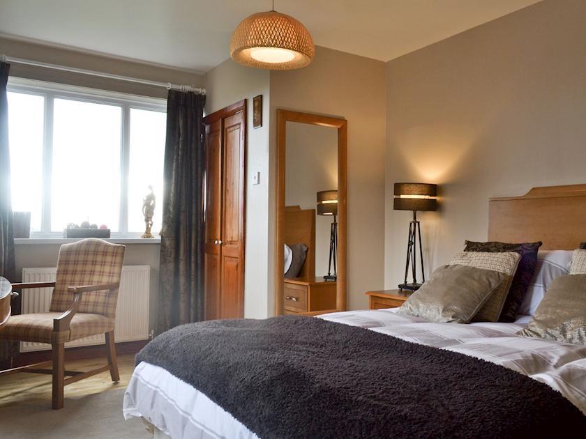 Comfortable double bedroom | Hillcrest House, Brown Edge, near Leek