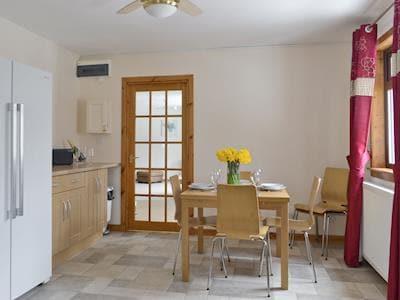 Spacious dining area of kitchen | Glen View, Balnain near Drumnadrochit