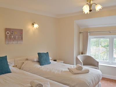 Comfortable twin bedroom   Eskdale - Sutton Hall Cottages, Sutton-under-Whitestonecliffe near Thirsk