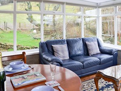 Conservatory | Hillend Guest Cottage, Moffat