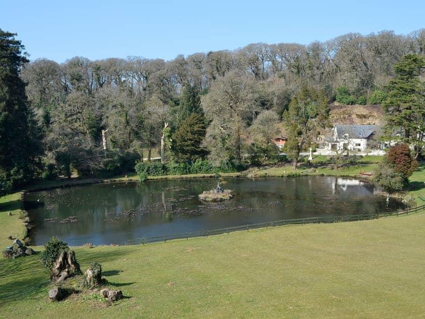 View | Lake View Cottage - Rosecraddoc Manor, Liskeard