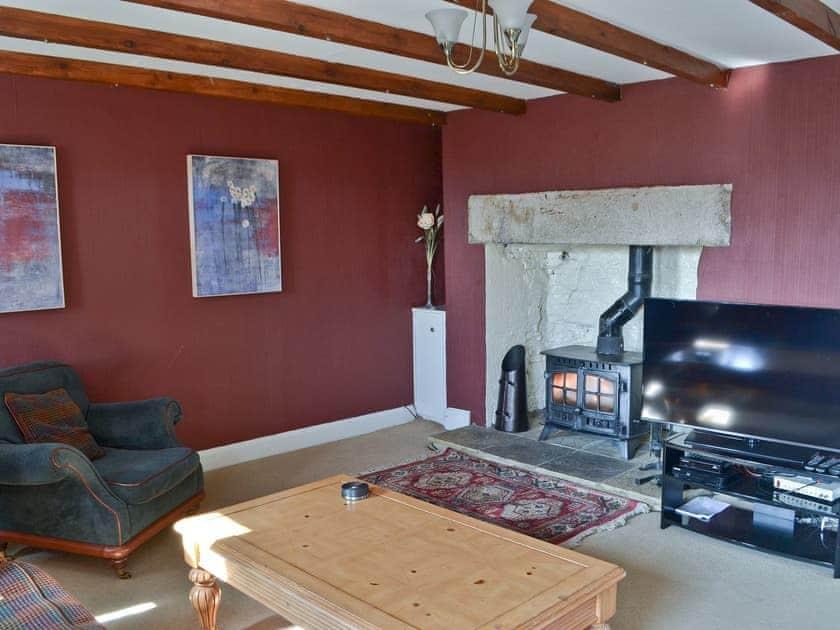 Living room | Whitelee Farm - Oak Cottage, Byrness Village, nr. Otterburn