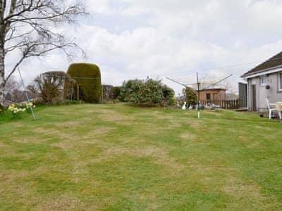 Large lawned garden | Hilltop, Newton Stewart