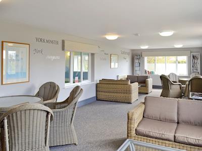 Spacious communal garden room | Claxton Grange, Claxton, nr. York