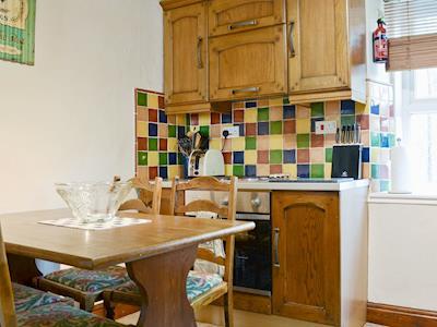 Charming kitchen/ diner   Toffeepot Cottage, Kendal, near Windermere