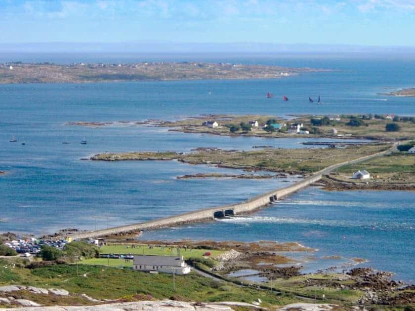 Surrounding area, coastline | Ti' Una Seaview, Lettermore