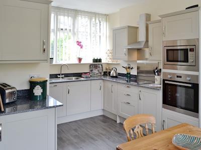 Well-equipped modern fitted kitchen   Station House - Glyndyfrdwy Station Cottages, Glyndyfrdwy, near Llangollen