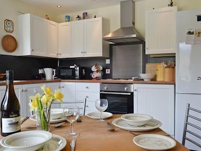 KLitchen & dining area | Braes of Kilbride, Kilbride, near Portree