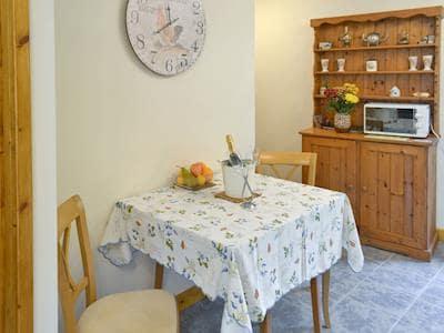 Intimate dining area | Annexe at Church Farm Barn, Ingham, near Stalham