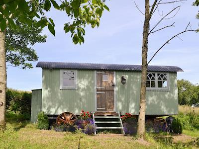 Characterful 'shepherds hut' holiday home | Nadine - Llethrau Estate, Felindre, near Knighton