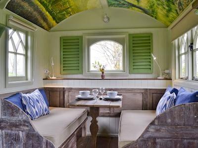 Dining and seating area | Nadine - Llethrau Estate, Felindre, near Knighton