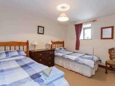 Twin bedroom | Grisedale Barn, Threshfield, near Grassington