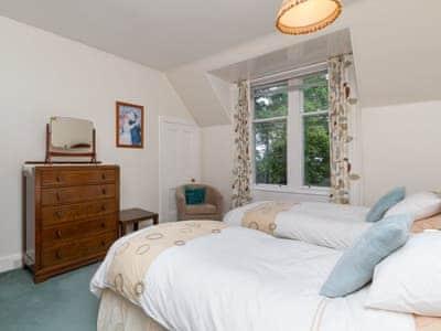 Twin bedroom | Dunlorn, Kingussie