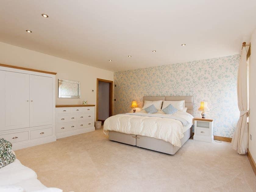 Spacious master bedroom | Blackdown Farm, Manor Barn, Blackawton, nr. Dartmouth