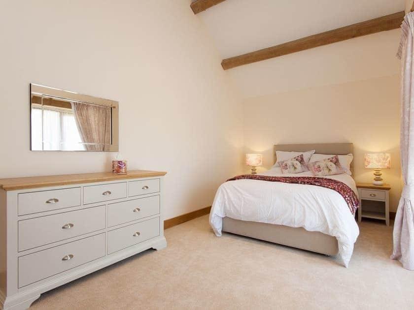 Romantic double bedroom | Blackdown Farm, Manor Barn, Blackawton, nr. Dartmouth