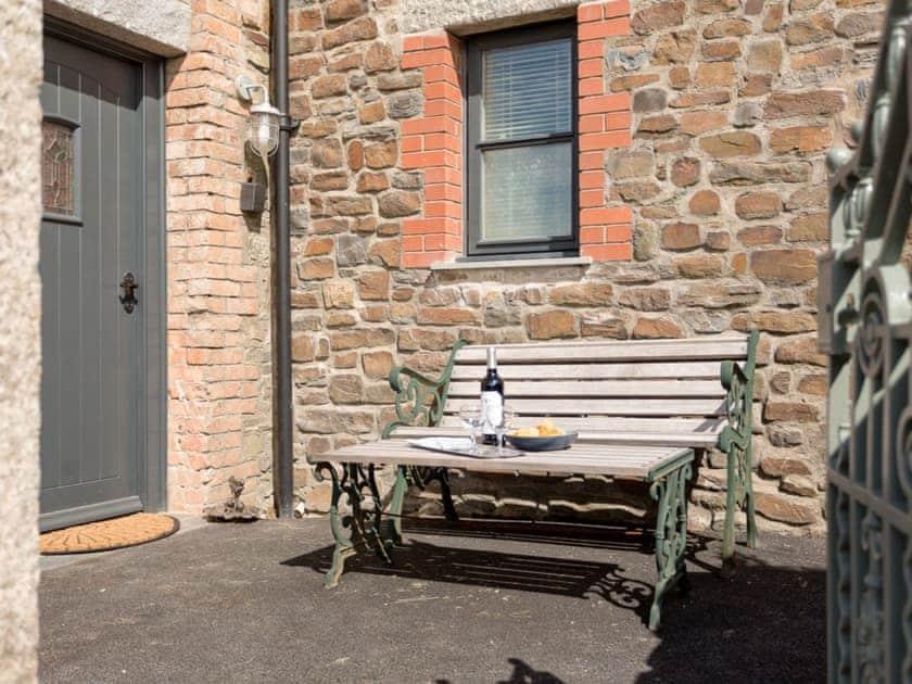 Outdoor seating area | The Rocket House, Hartland Quay, near Hartland, Bideford