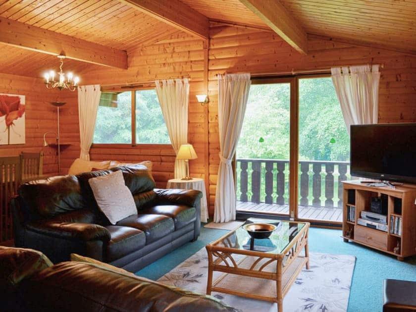 Open plan living/dining room/kitchen | Scandanavian Lodge, Kenwick Park, near Louth