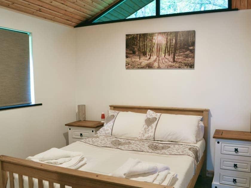 Comfortbale double bedroom | Pine Marten, Otterburn, near Rothbury