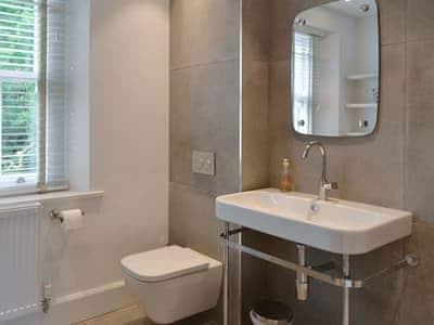 En-suite shower room | Dale View, Little Langdale near Ambleside