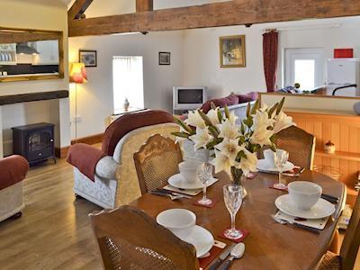 Stylish open-plan living space | Haystore, Biggin by Hartington, near Buxton
