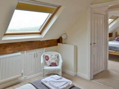 Dressing area of double bedroom | The Farmhouse, Biggin by Hartington, near Buxton